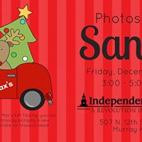 Photos with Santa - Patriot Square Murray