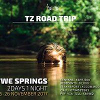 Moshi-Kikuletwe springs Road Trip