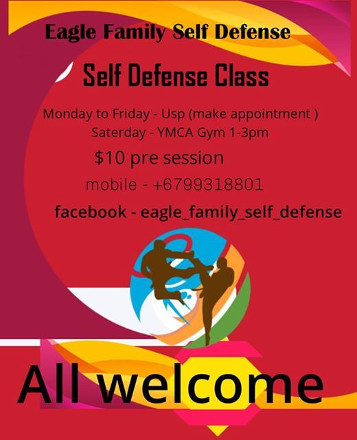 Self Defense Class at YMCA Gym, Suva
