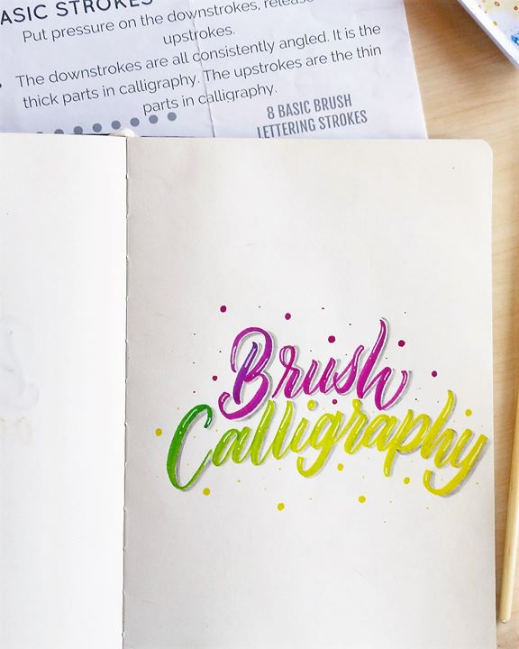 Brush Calligraphy with Quotes and Verses Workshop