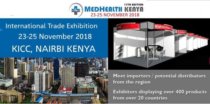 MedHealth Nairobi Kenya 2018  Medical Trade Fairs  Exhibitions  Events