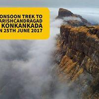 Monsoon Trek To Harishchandragad and KonkanKada