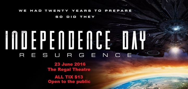 independence day resurgence 23 june 2016 at the regal