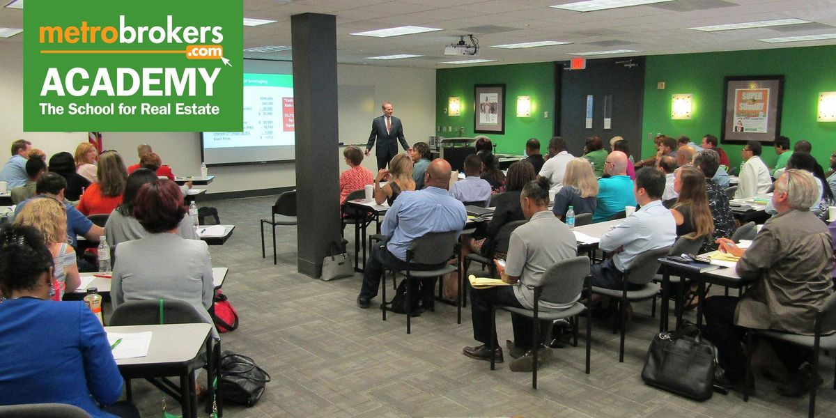 Salespersons Pre-License Course - Northlake Day Class (Accelerated)