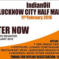 IndianOil Lucknow City Half Marathon-2018 powered by HCL