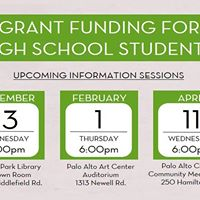 Think Fund Information Session- Grants for High School Teens