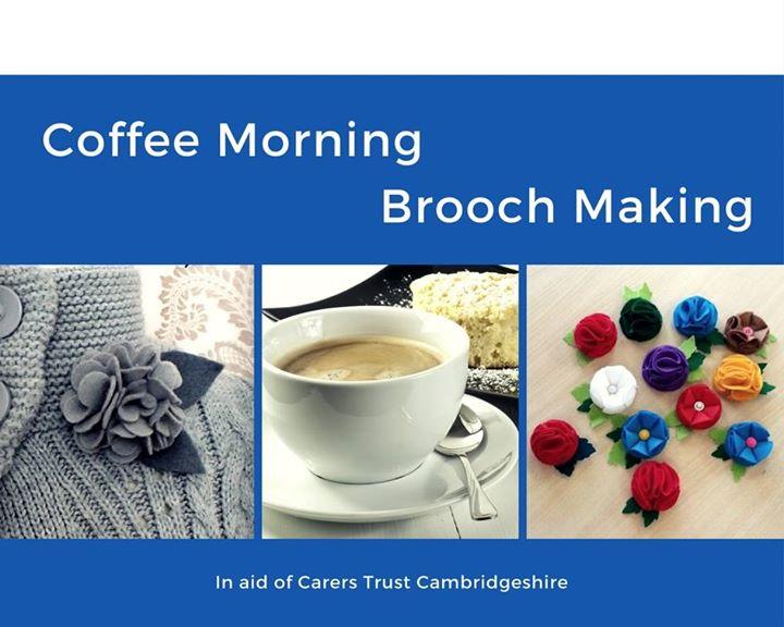 Coffee Morning & Brooch Making Class
