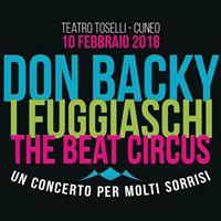 Don Backy Fuggiaschi Beat Circus-Teatro Toselli Cuneo 10 02 18