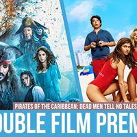 ASPB Free Double Film Premiere Baywatch or Pirates