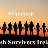 Mesh Survivors Ireland Protest at Leinster House