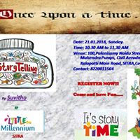 Story Telling Session - &quotOnce Upon a Time&quot
