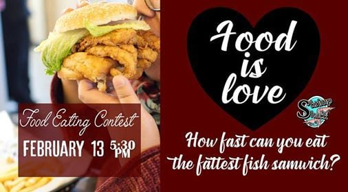 Food is Love Food Eating Contest
