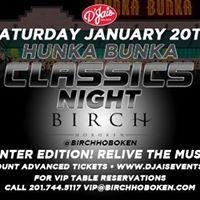 Hunka Bunka Classics Night in Hoboken