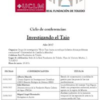 Conferencia Grupo de Investigacin del Tajo-UCLM