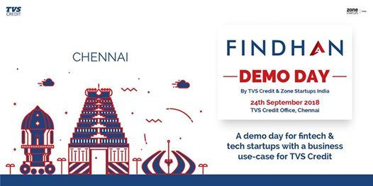 Findhan Demo Day- By TVS Credit & Zone Startups