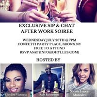 After Work Sip &amp Chat Soiree