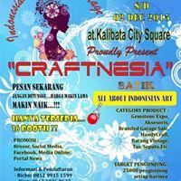 Indonesian Cultural Heritage &quotCRAFTNESIA 2015&quot