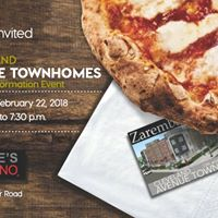 Cleveland Avenue Townhomes Evening Information Event