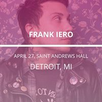 Frank Iero in Detroit