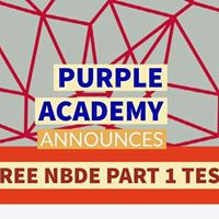 FREE NBDE PART 1 TEST