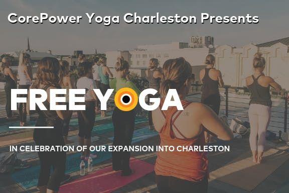 FREE Silent Disco Yoga with CorePower Yoga