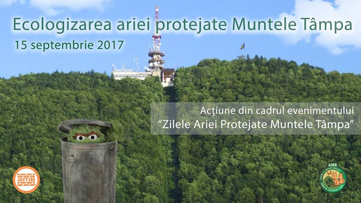 Ecologizarea ariei protejate Muntele Tmpa