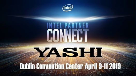 Yashi a Intel Partner Connect 2019 Dublino at The Convention Centre