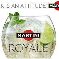 &quotNice&quot Royale aperitivo...firmato Martini