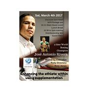 Enhancing the Athlete within using supplementation.