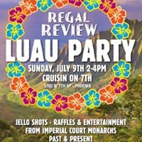 Regal Review Luau Party