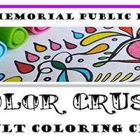 Color Crush Adult Coloring Club