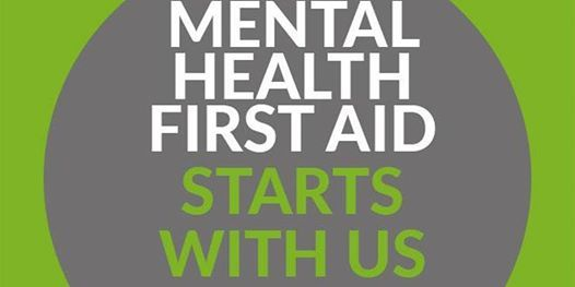 Mental Health First Aid (ADULTS 2 DAY)