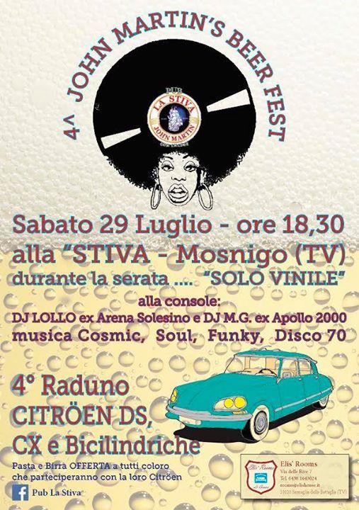 La Stiva Mosnigo.4 John Martins Beer Fest At Pub La Stiva Mosnigo Mosnigo