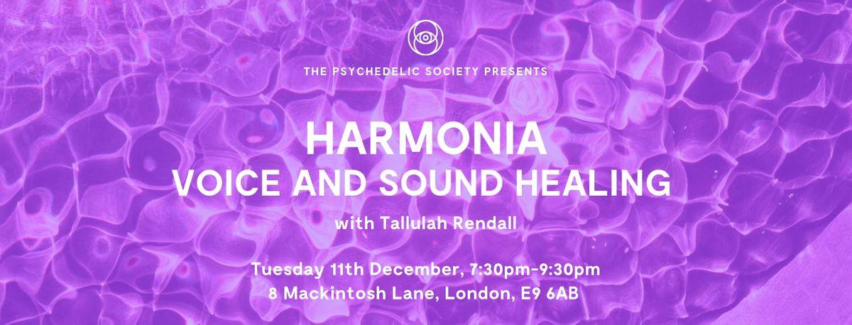 Harmonia Voice and Sound Healing