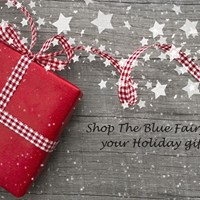 Christmas Shopping with The Farmhouse and The Blue Fairy