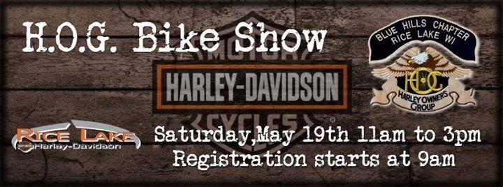 Hog Bike Show At Rice Lake Harley Davidson Rice Lake