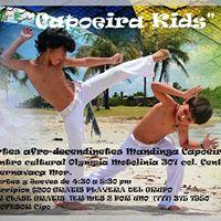 Mandinga Capoeira kids