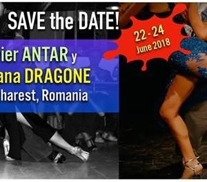 Javier Antar y Mariana Dragone in Romania 22-24 iunie