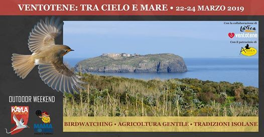 Ventotene tra cielo e mare 22-24 Marzo 2019 - Outdoor Weekend