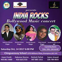 INDIA ROCKS Bollywood Music Concert
