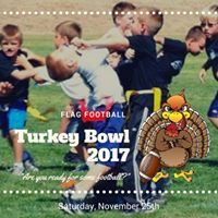 Flag Football Turkey Bowl 2017