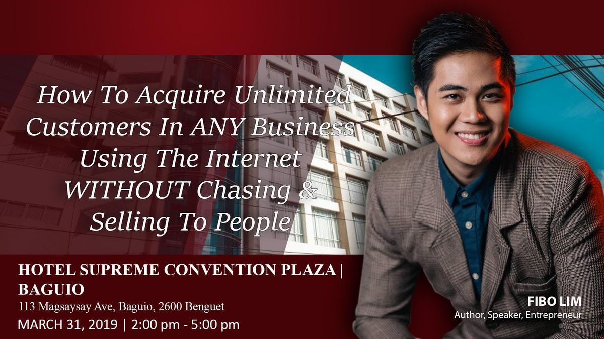 Internet Business Launch Seminar - Baguio