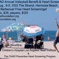 2017 CHAD Volleyball Benefit &amp Heart Screening