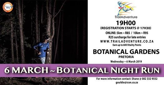 Botanical Night Run 10 & 5km