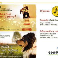 Taller Nutricin natural para perros
