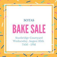 SOTAS Bake Sale