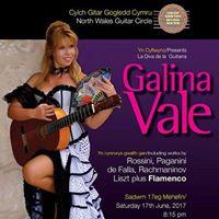 Galina Vale in Concert -La Diva de la Guitarra- Isle of Anglesey