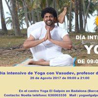 Dia intensivo de Yoga con Vasudev