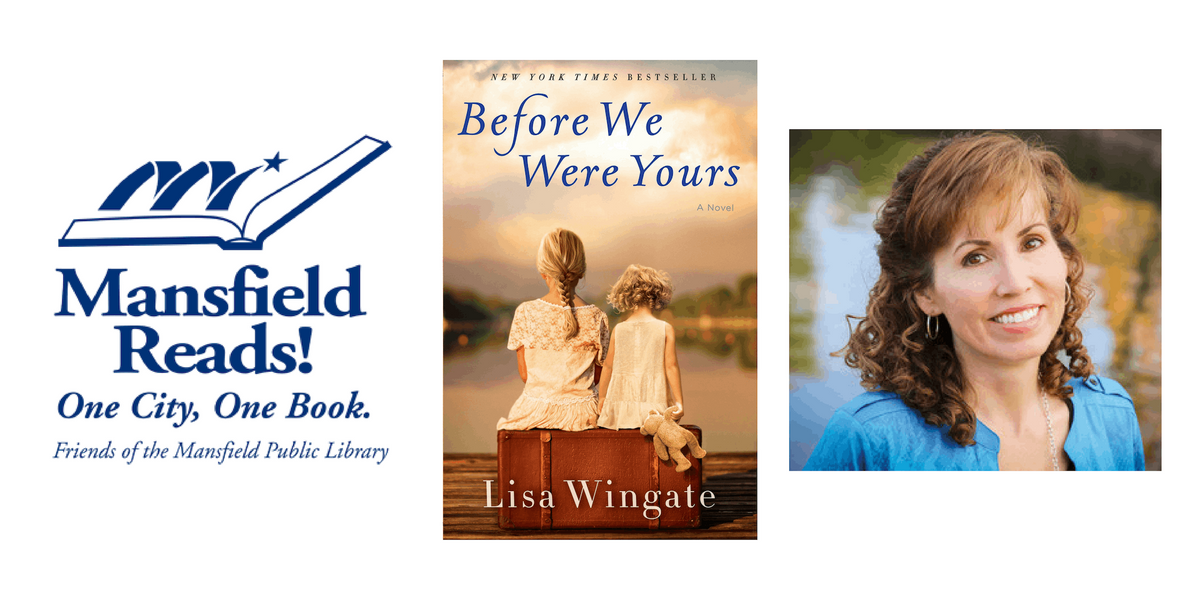Mansfield Reads 2019- Evening with the Author