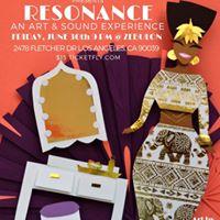Jimetta Rose Presents Resonance - An Art and Sound Experience